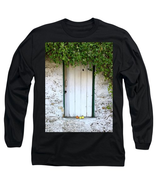 Serendipitous Door Long Sleeve T-Shirt by Russell Keating