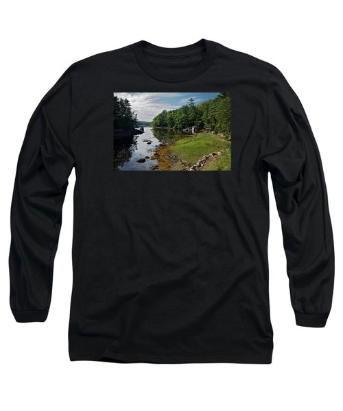 Serene Backyard Long Sleeve T-Shirt