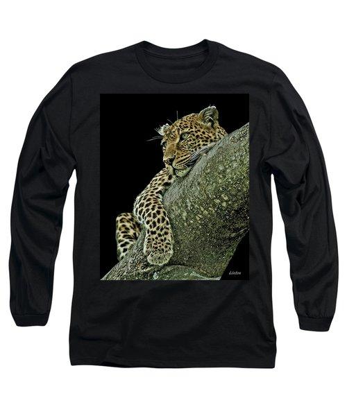 Serengeti Leopard 2a Long Sleeve T-Shirt