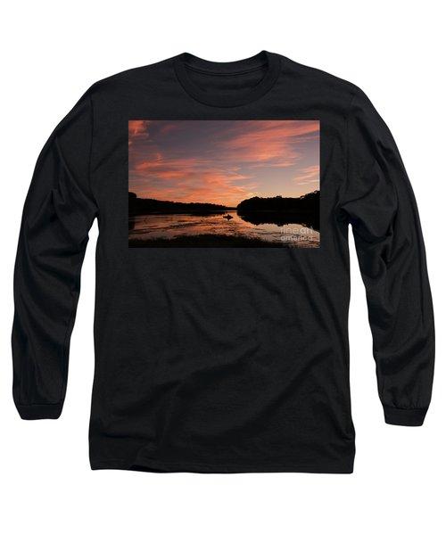 Serenity Long Sleeve T-Shirt by Nicki McManus