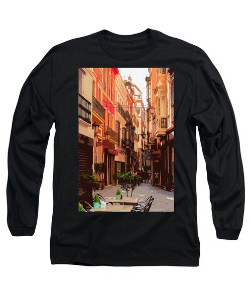 Seville, The Colorful Streets Of Spain - 02 Long Sleeve T-Shirt