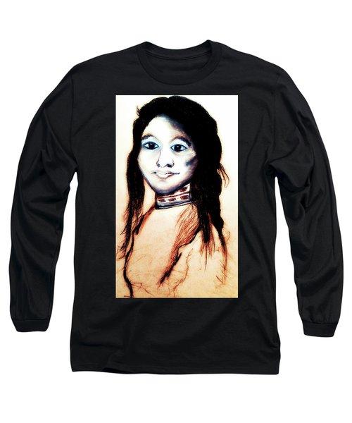 Sha Wen Ne Gun. 1857. Ojibwe Long Sleeve T-Shirt