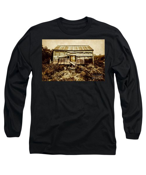 Shabby Country Cottage Long Sleeve T-Shirt