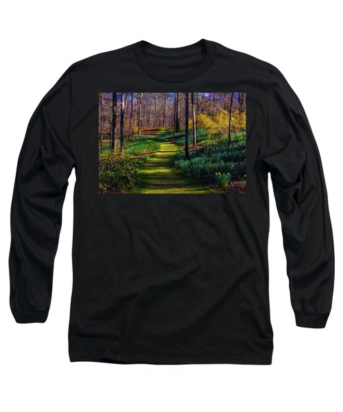 Shaded Spring Stroll Long Sleeve T-Shirt