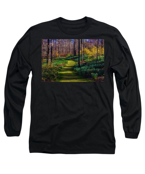Shaded Spring Stroll Long Sleeve T-Shirt
