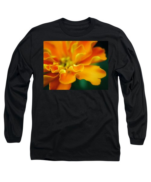 Long Sleeve T-Shirt featuring the photograph Shades Of Orange by Eduard Moldoveanu