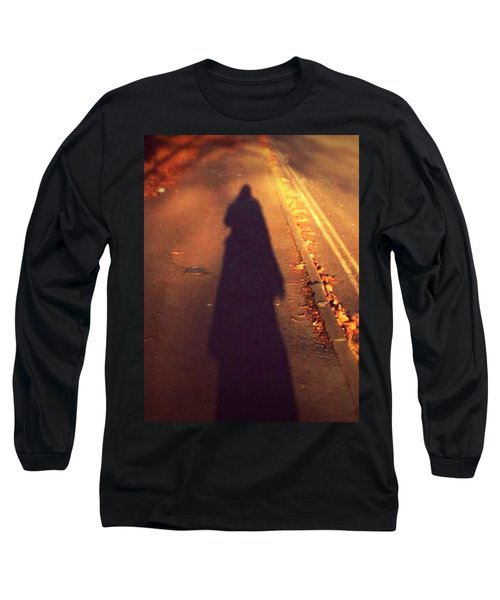 Long Sleeve T-Shirt featuring the photograph Shadow by Persephone Artworks