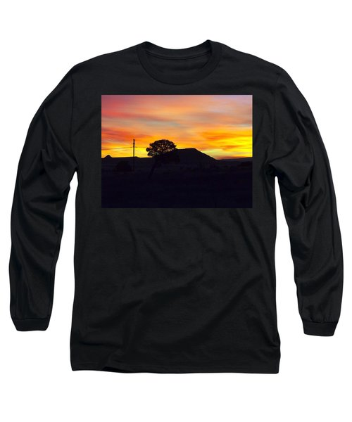 Shadow Tree Long Sleeve T-Shirt by Adam Cornelison