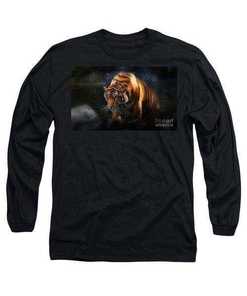Shadows And Light Long Sleeve T-Shirt by Kym Clarke
