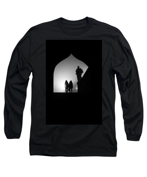 Long Sleeve T-Shirt featuring the photograph Shadows by Jenny Rainbow