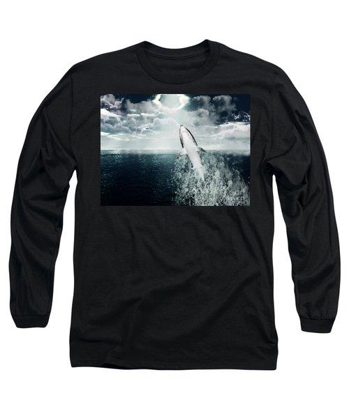 Shark Watch Long Sleeve T-Shirt
