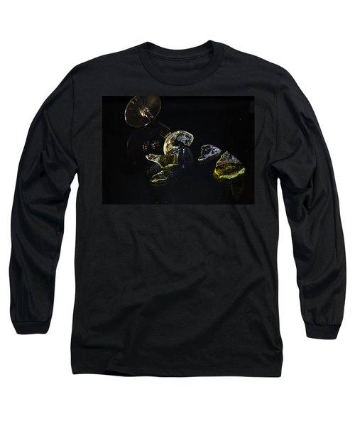 Long Sleeve T-Shirt featuring the photograph Shattered Illusions by Susan Capuano