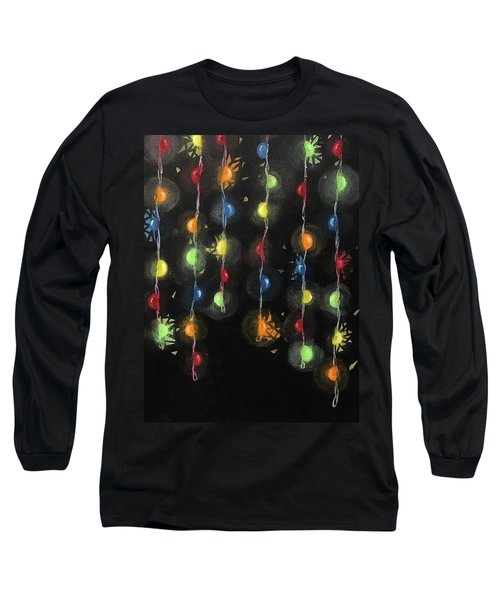 Shattered Lights Long Sleeve T-Shirt