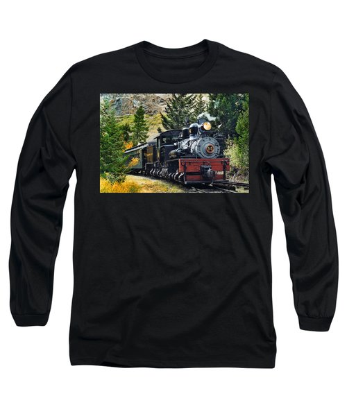 Shay On The Georgetown Loop Long Sleeve T-Shirt by Ken Smith