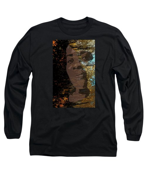 She Is Loved Long Sleeve T-Shirt by Cedric Hampton