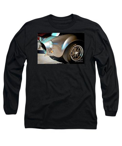 Shelby Cobra Abstract Long Sleeve T-Shirt