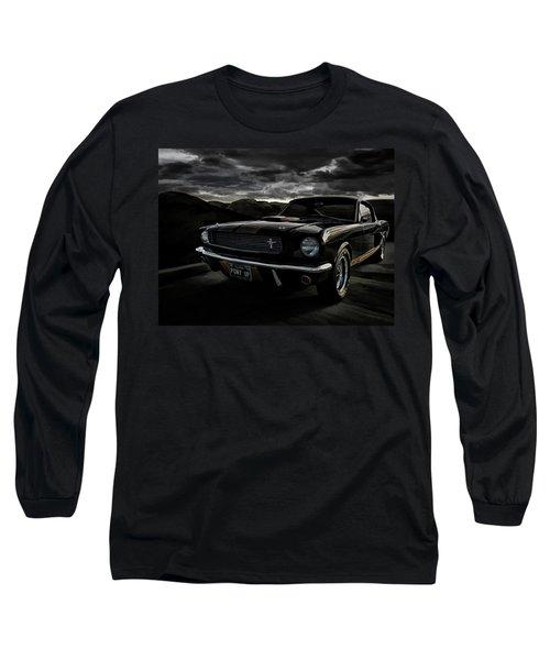 Shelby Gt350h Rent-a-racer Long Sleeve T-Shirt by Douglas Pittman