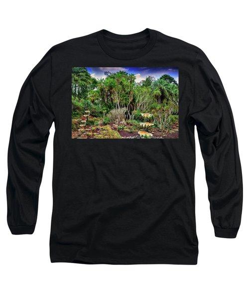 Shell Garden Long Sleeve T-Shirt by Joseph Hollingsworth