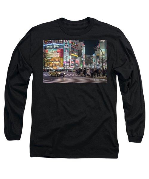 Shibuya Crossing, Tokyo Japan Long Sleeve T-Shirt