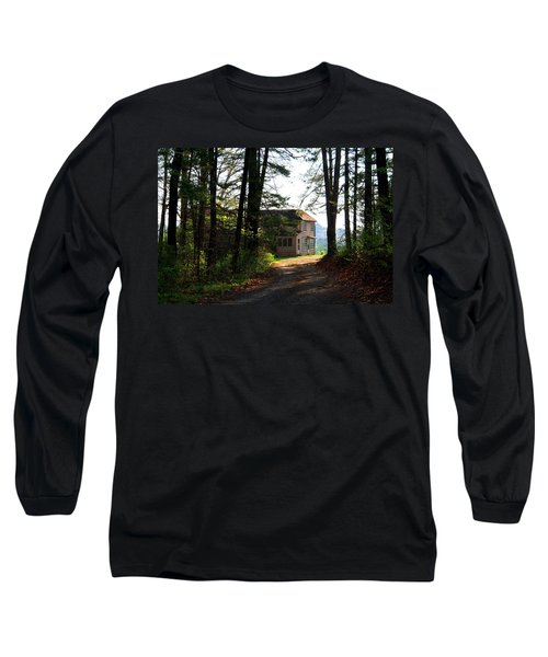 Long Sleeve T-Shirt featuring the photograph Shields Farm by Kathryn Meyer