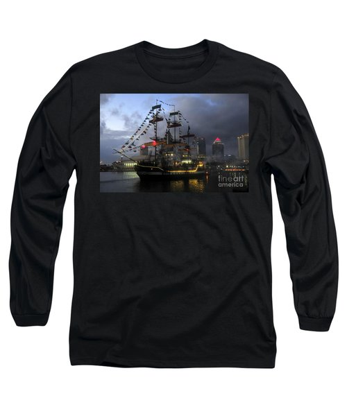 Ship In The Bay Long Sleeve T-Shirt