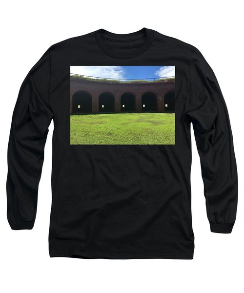 Long Sleeve T-Shirt featuring the photograph Ship Island Mississippi by Andrea Love