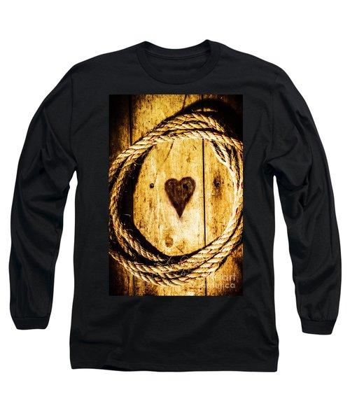 Ship Shape Heart Long Sleeve T-Shirt