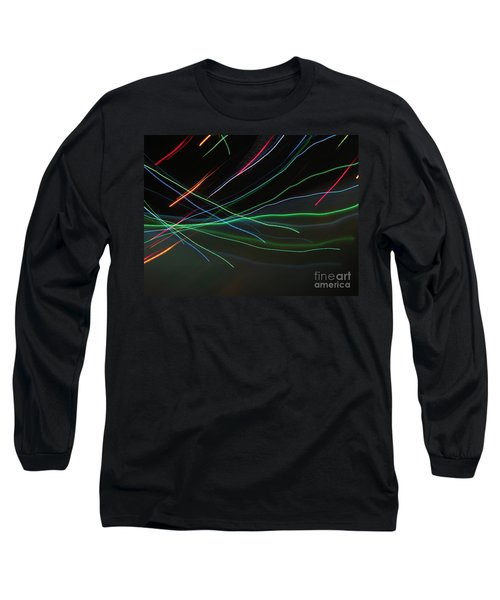 Long Sleeve T-Shirt featuring the photograph Shooting Stars by Ausra Huntington nee Paulauskaite