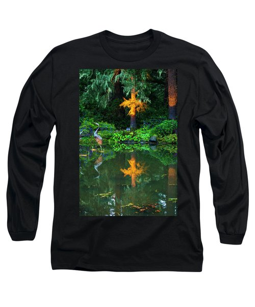 Long Sleeve T-Shirt featuring the photograph Shore Acres Beauty by Dale Stillman