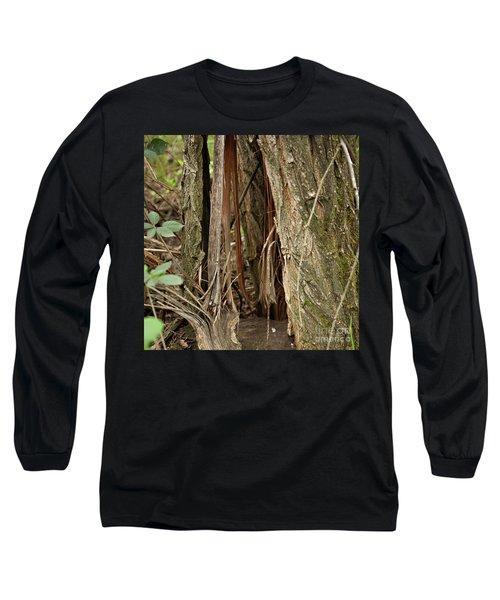 Shredded Tree Long Sleeve T-Shirt