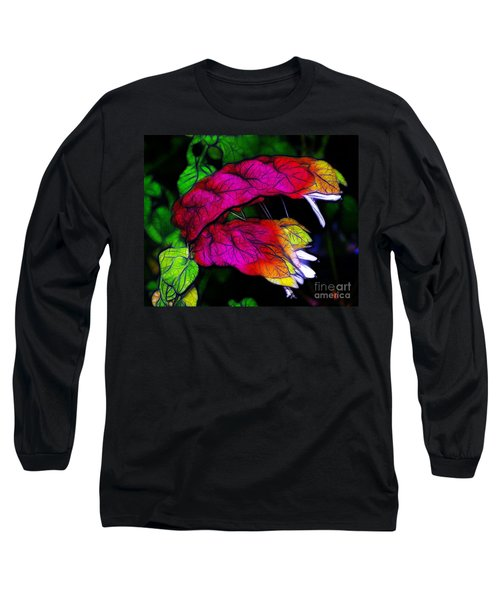 Shrimp Plant Long Sleeve T-Shirt