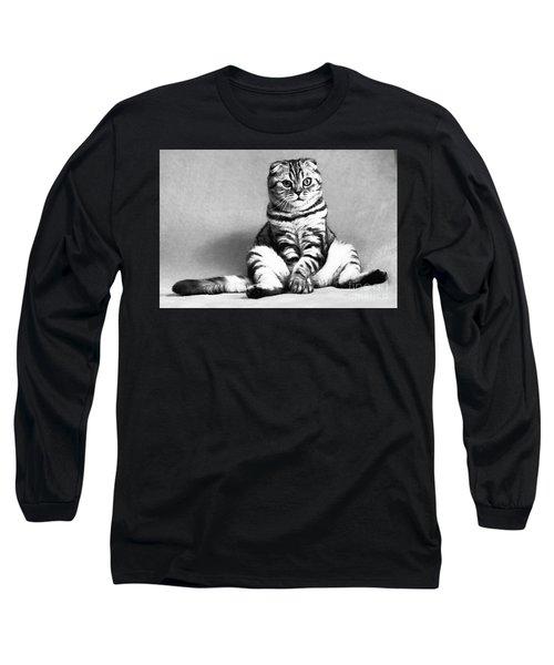 Shy Cat Long Sleeve T-Shirt
