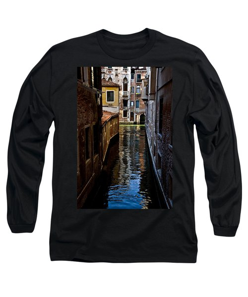 Side Canal Long Sleeve T-Shirt by Harry Spitz