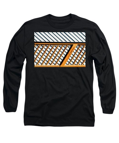 Long Sleeve T-Shirt featuring the photograph Side Step by Paul Wear