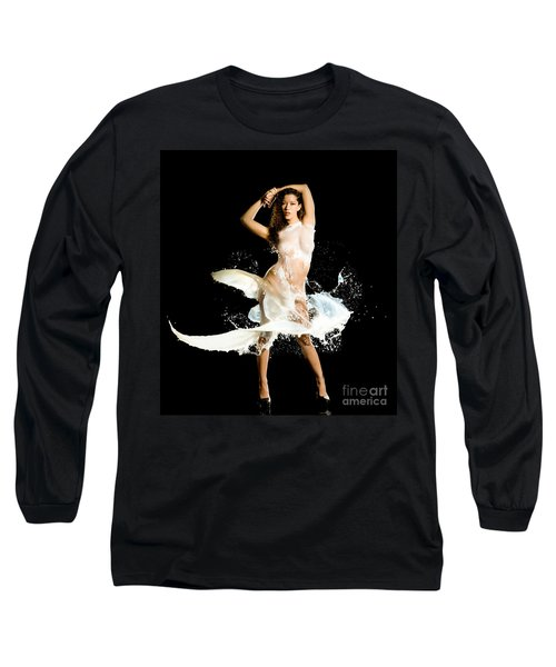 Sides Long Sleeve T-Shirt by Gregory Worsham