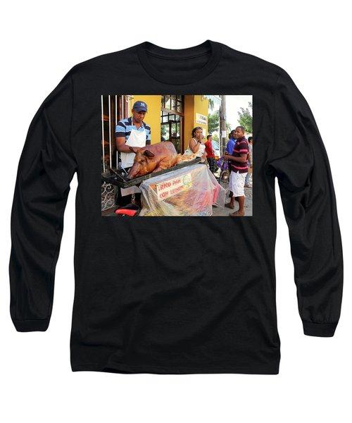 Sidewalk Cafe Long Sleeve T-Shirt