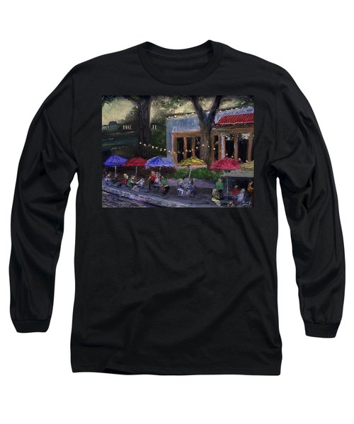 Sidewalk Cafe Long Sleeve T-Shirt