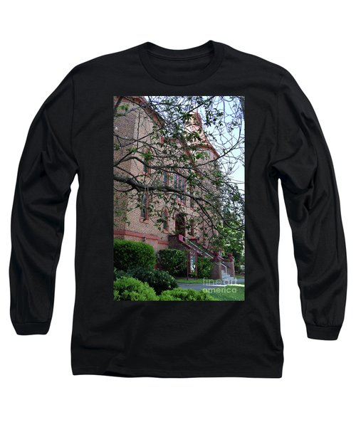 Long Sleeve T-Shirt featuring the photograph Sidney Park Cme Church by Skip Willits
