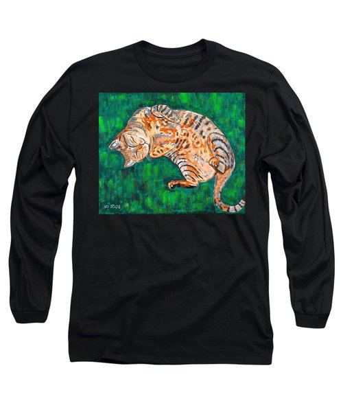 Siesta Long Sleeve T-Shirt by Valerie Ornstein