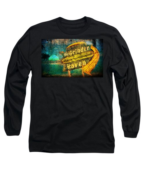 Sign Of The Times Long Sleeve T-Shirt by Greg Sharpe
