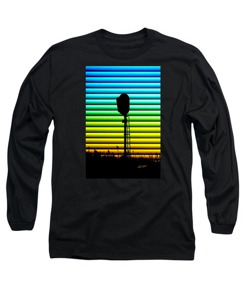 Signal At Dusk Long Sleeve T-Shirt by Bill Kesler