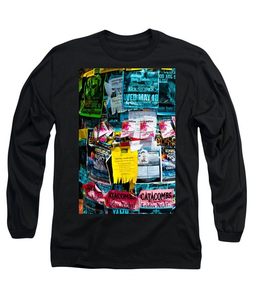 Long Sleeve T-Shirt featuring the photograph Signs Everywhere Signs by Colleen Coccia