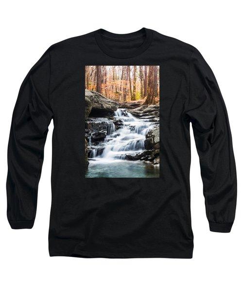 Autumn At Moss Rock Preserve Long Sleeve T-Shirt by Parker Cunningham