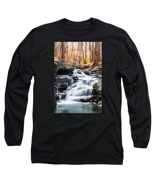 Autumn At Moss Rock Preserve Long Sleeve T-Shirt