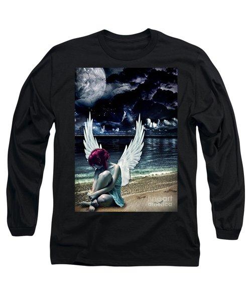 Silence Of An Angel Long Sleeve T-Shirt