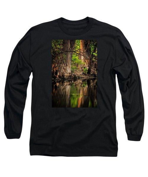 Silent River Long Sleeve T-Shirt