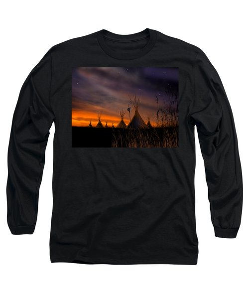 Silent Teepees Long Sleeve T-Shirt