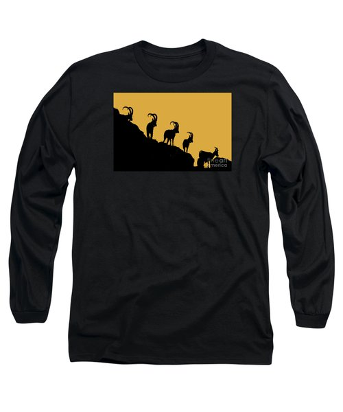 Silhouette Sunrise Long Sleeve T-Shirt