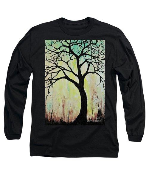 Silhouette Tree 2018 Long Sleeve T-Shirt