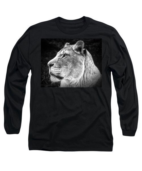 Silver Lioness  Long Sleeve T-Shirt